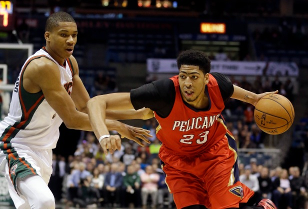 Giannis Antetokounmpo, Anthony Davis