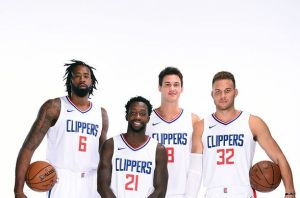 2017-18 LA Clippers Media Day